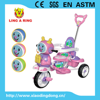 HOT SALE CHEAP CHILDREN TRICYCLE WITH ELEPHANT FACE AND MUSIC LIGHT