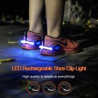 Shoe safety clip light led lights for runners safety shoe light