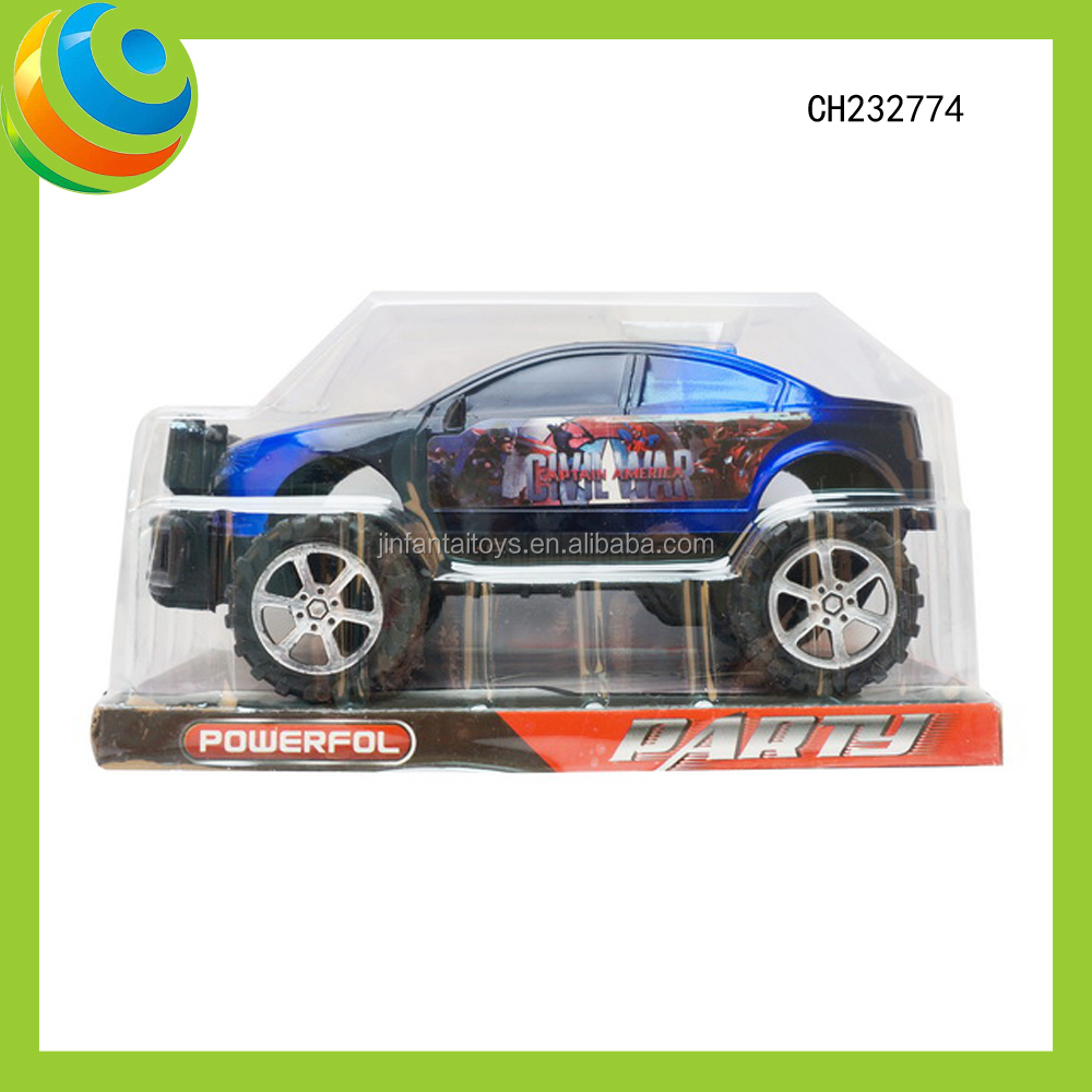 New Product Kids Plastic <strong>Friction</strong> Power SUV Toy