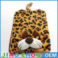 soft throw bed oversized plush leopard print throw blanket