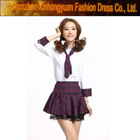 girls high school uniform design