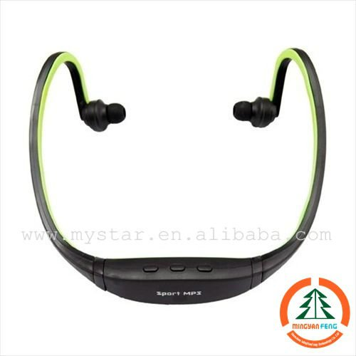 fashion Sport mp3 and headset mp3 player