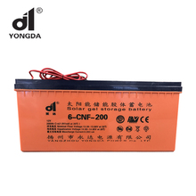 solar home system deep cycle gel battery 12v 200ah