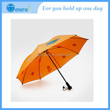 Safety reflection design uv protect straight kid umbrella