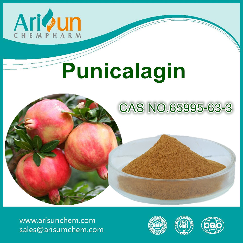 Factory Supply Pomegranate Extract Punicalagin CAS NO. 65995-63-3