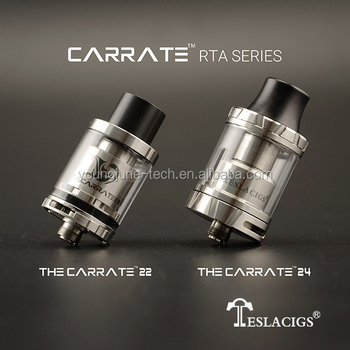 New-Brand deck design Authentic Tesla RTA The Carrate 24 RTA