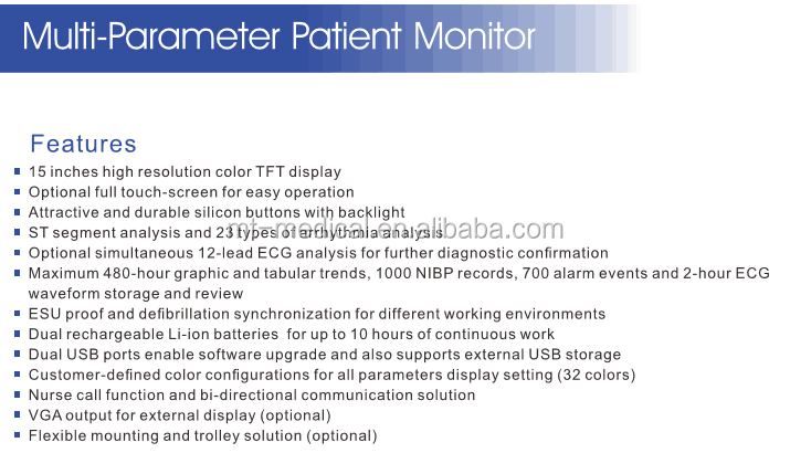 Patient Monitor China Edan Patient Monitor Price for Sale