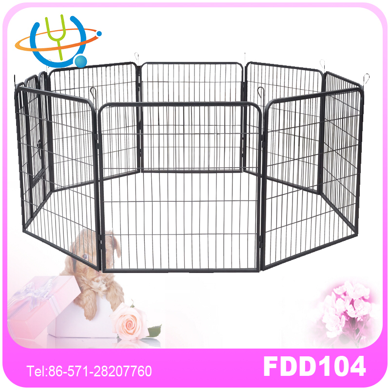 Pet Heavy Duty Metal Tube Playpen for Dog Exercise Pen and Training
