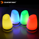 USB Style plastic LED night lights decorative warm white lamp wireless rechargeable table lamp