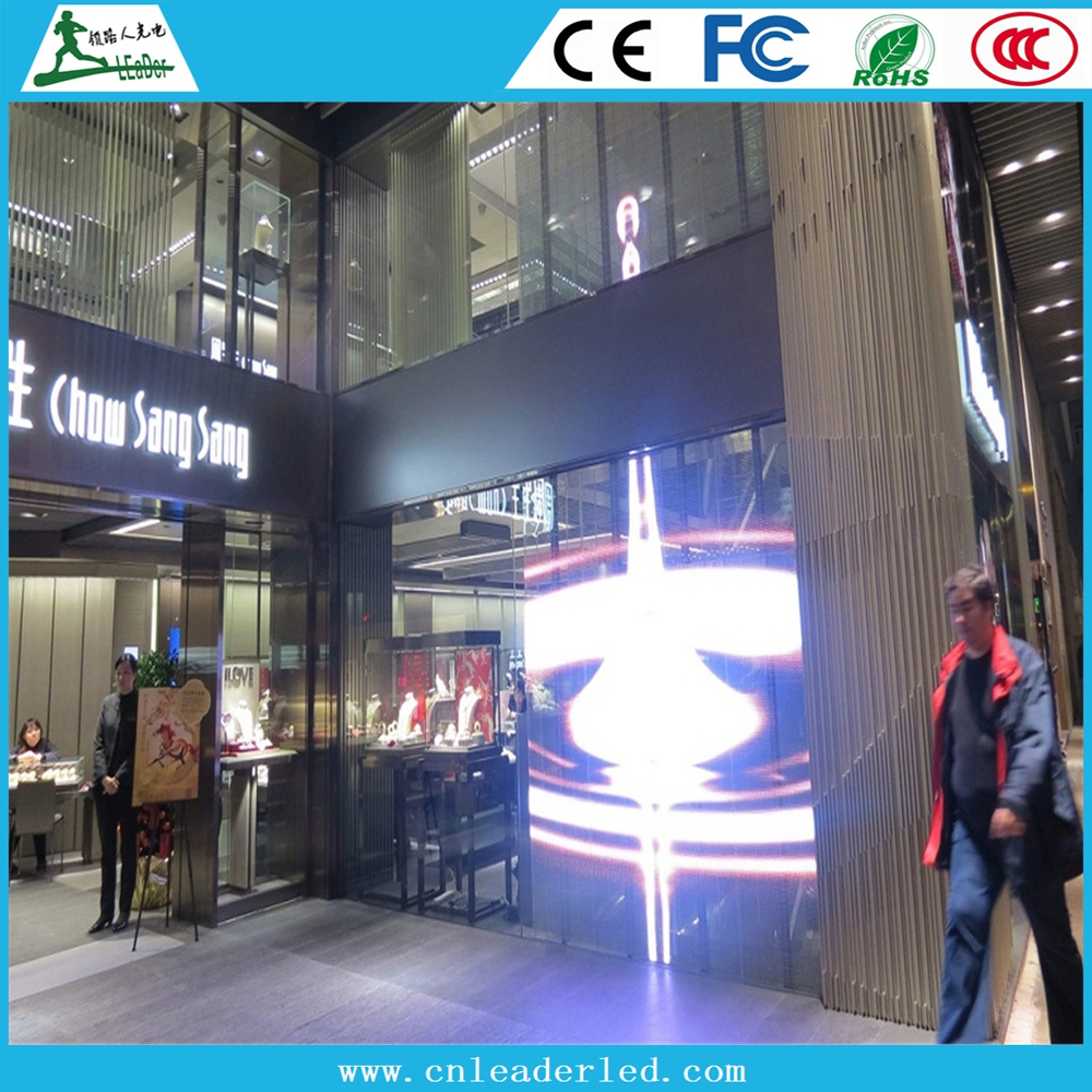 Indoor p20 p10 p16 full color transparent led screen led mesh led curtain