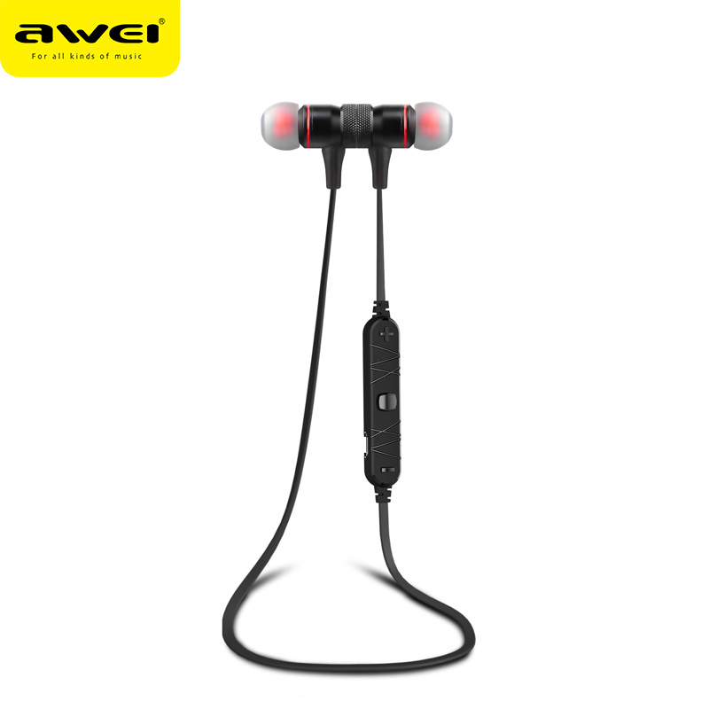AWEI A920BL Mobile Accessories Inear Wireless Blue tooth Earphones Sports Running Headsets Waterproof Audiophones Manufacturers