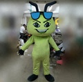 HOLA green ant costume/custom ant mascot costume for adult