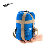 Outdoor compact portable compressed mini super light ultra sleeping bag