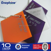 hard plastic transparent and flexible plexiglass sheet