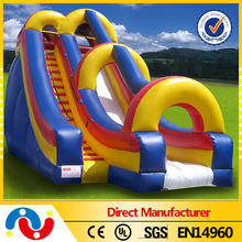 Gaint inflatable water slide clearance/ inflatable water slide with pool/