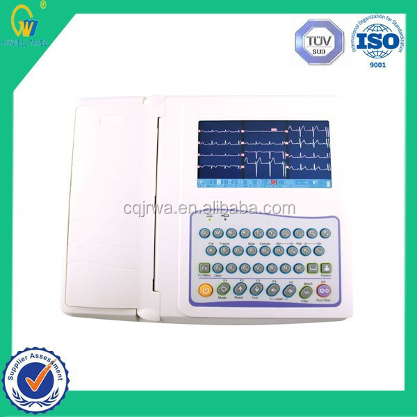 Multi-Parameter Automatic Disease Examination 12 Channels Electrocardiograph ECG Machine