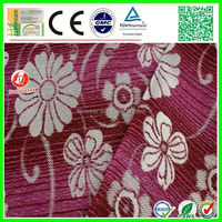 2015 new design modern upholstery polyester spandex textured fabric