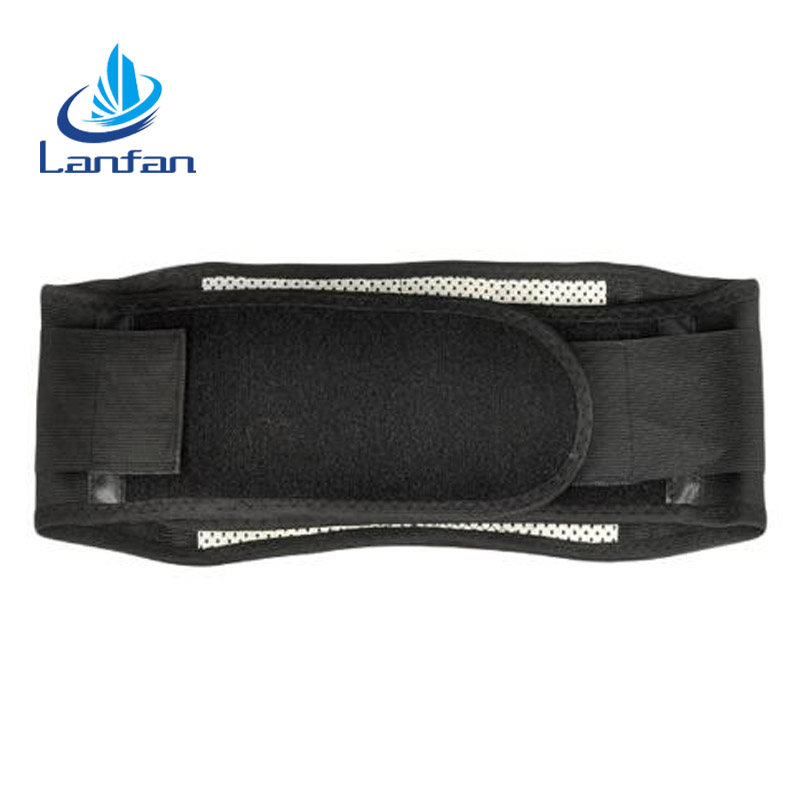 High quality cheap tourmaline magnetic self heating waist belt back massage price