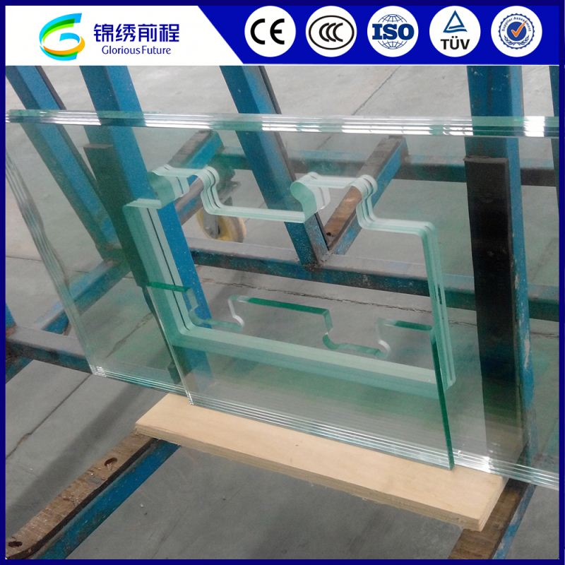 China Competitive Price Tempered Enamel Laminated Glass