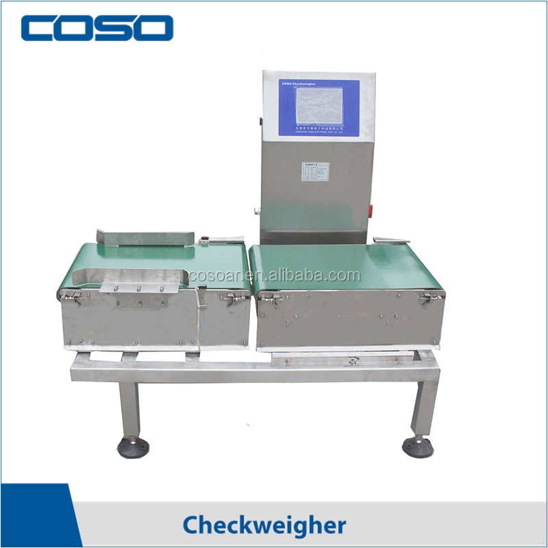 Auto food bag check weigher