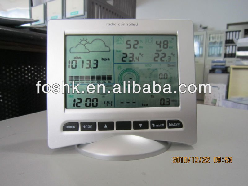 indoor outdoor weather station gift weather station