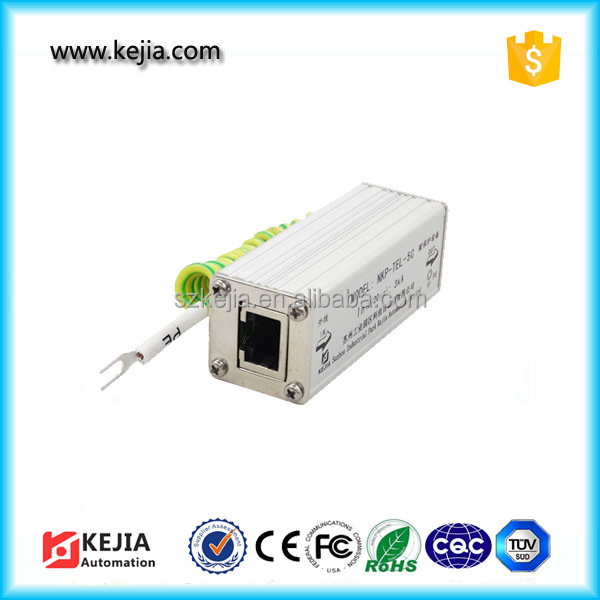 KEJIA Wholesale CAT5/CAT5e Network RJ45 Surge Protector/Thunder Arrester/SPD