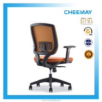 New model with tilting swivel chair with armrests and nylon feet