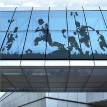 Prima High definition resistant to scratch digital printing glass for exterior wall