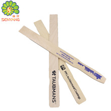 industrial manufacture paddle stirrer birch wooden paint stir sticks