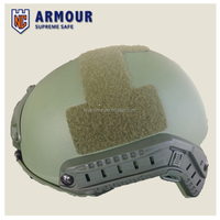 NIJ IIIA Aramid or PE fabric Bulletproof Helmet