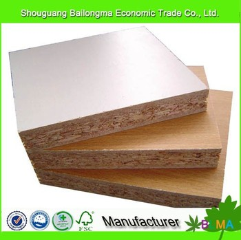 16mm high-density particle board laminated chipboard price