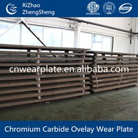 high hardness wear plate used on continuous underground miner
