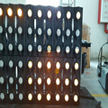 best selling 36psc 3watt LED par stage light warm white matrix dmx512 LED par can light