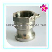 "1/2"" 316 stainless steel hose shank quick couplings"