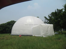 inflatable dome party tent marquee, 3D projection dome tent