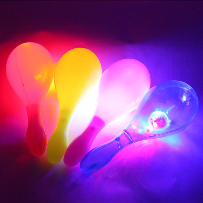 Event & Party Item Type and Event & Party Supplies Type LED flashing maracas