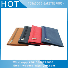 PU colourful tobacco pouch bag rolling cigarette