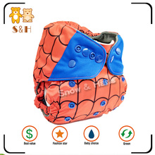 Factory directly provide eco friendly reusable washable baby cloth diaper