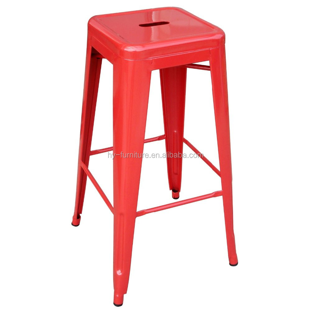 Wholesale Vintage Industrial Antique Style Barstool Metal Counter Kitchen Bar Stool
