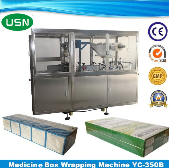 Professional Automatic wood wrapping machine