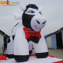 Guangzhou custom giant inflatable cow, advertising promotion inflatable model