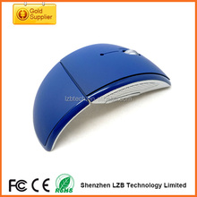 Best Selling wireless Arc touch mouses/folding mouses,2.4G Foldable Wirless Mouses for Laptop and Desktop