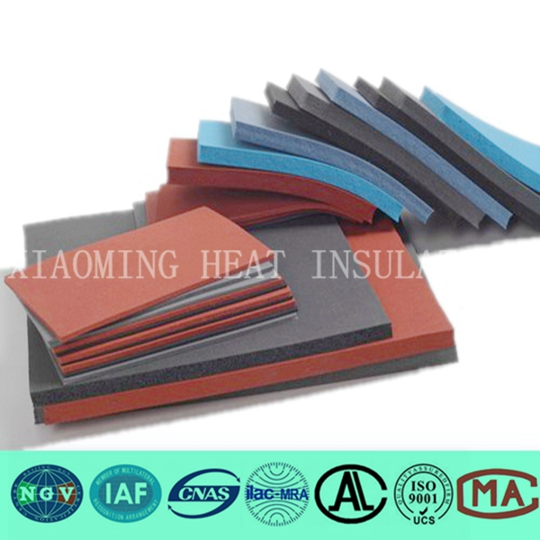 high density vulcanized rubber sheet for shoes sole