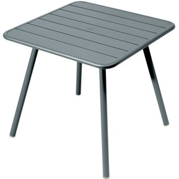 Outdoor Garden Metal Square Dining Table