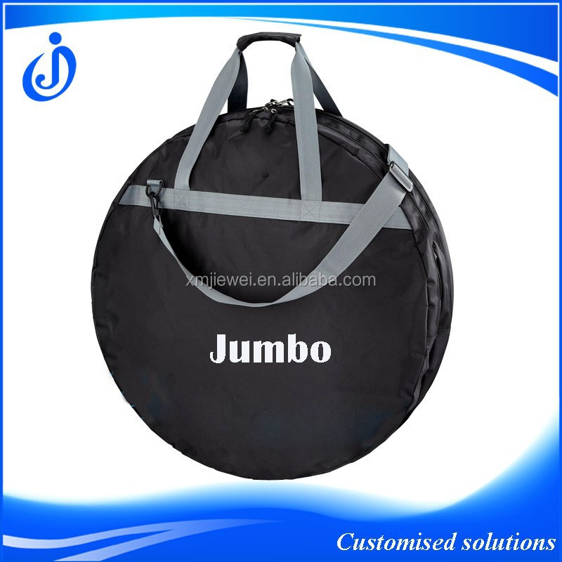 Wholesale Customised Padding Double Bike Wheel Covers With Shoulder Strap