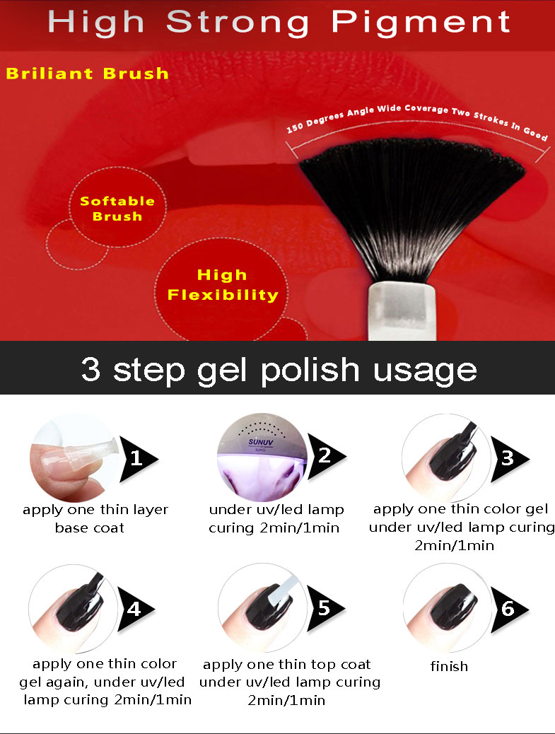 RONIKI 15ml  Best Sellers Soak Of High Quality UV Gel Polish