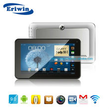 ZX-MD9003 New promotion 9 inch tablet pc MTK6577 dual core cpu built in 3G dual sim gps bluetooth mobile tv 4000mAh