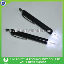 Write Smooth Metal Led Pen With Cap