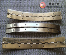 foshan small brass polishing continuous piano hinge