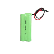 Factory direct sale 600mah 4.8V ni-mh battery pack for electric measurement